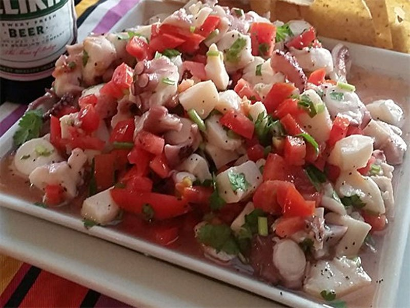 Conch Ceviche - El Fogon