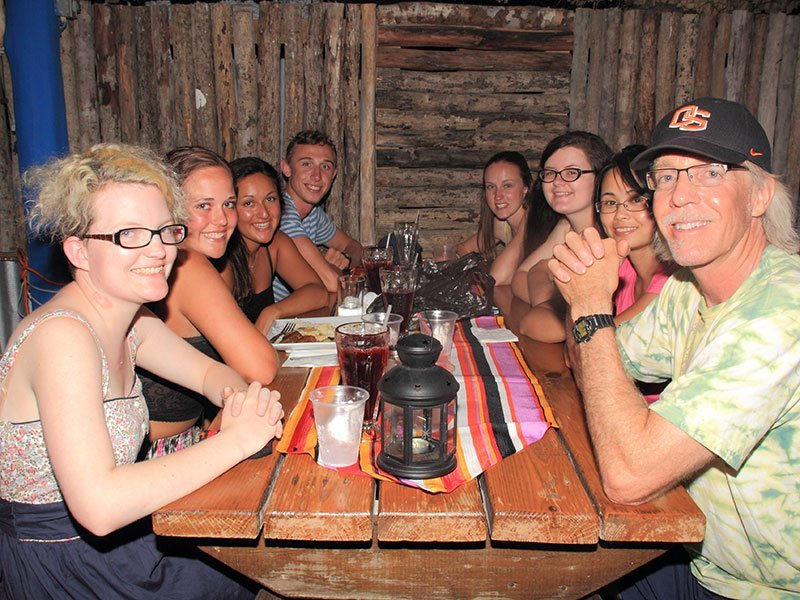 Spring Breakers Dining At El Fogon