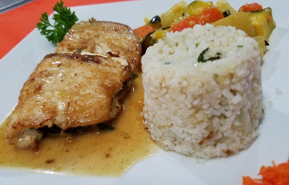 Stuffed Fish Fillet - El Fogon