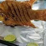 Fried Fish At El Fogon