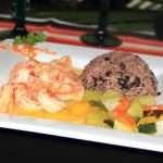 Shrimp Plate at El Fogon