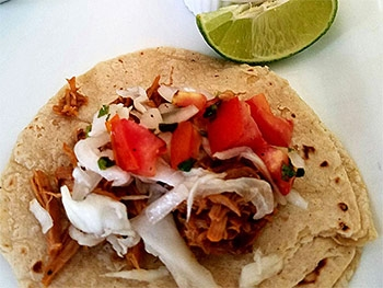 Pibil Tacos At El Fogon