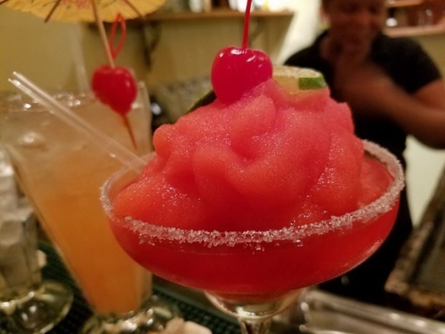 Strawberry Margarita - El Fogon