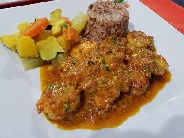 Curry Shrimp - El Fogon
