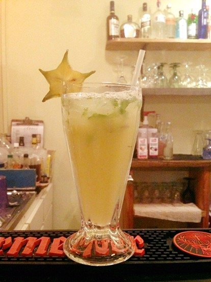 Star Fruit Mojito - El Fogon