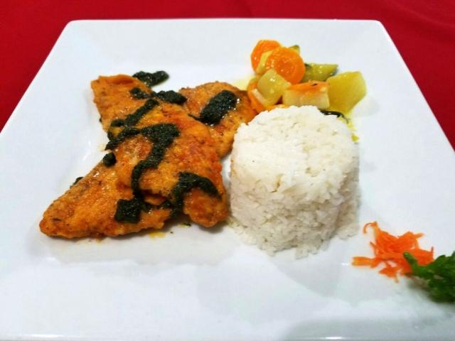 Chicken Plate at El Fogon