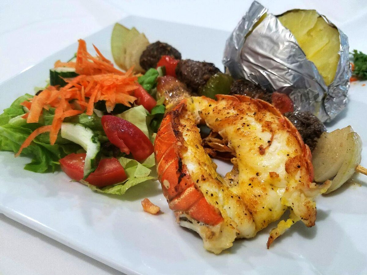 Grilled Lobster El Fogon