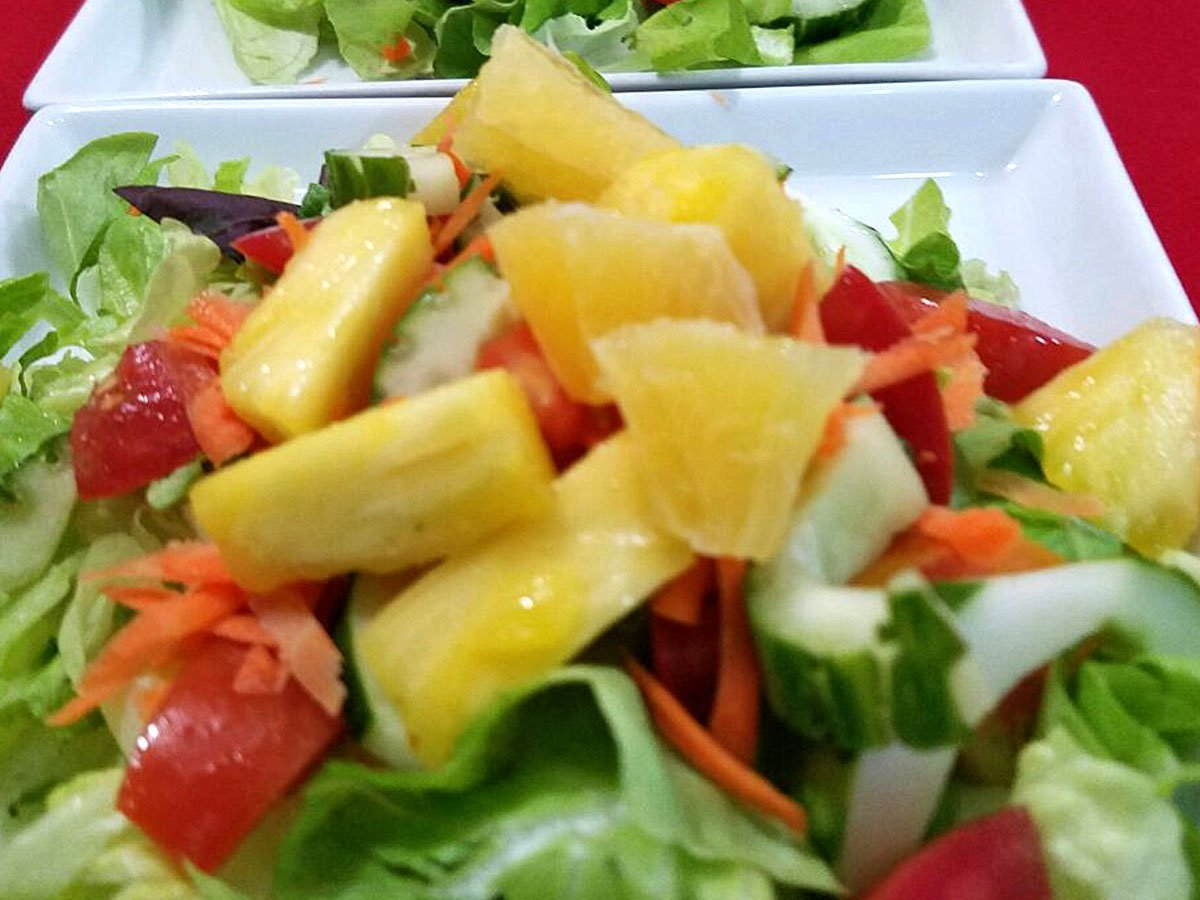 Tropical Garden Salad - El Fogon