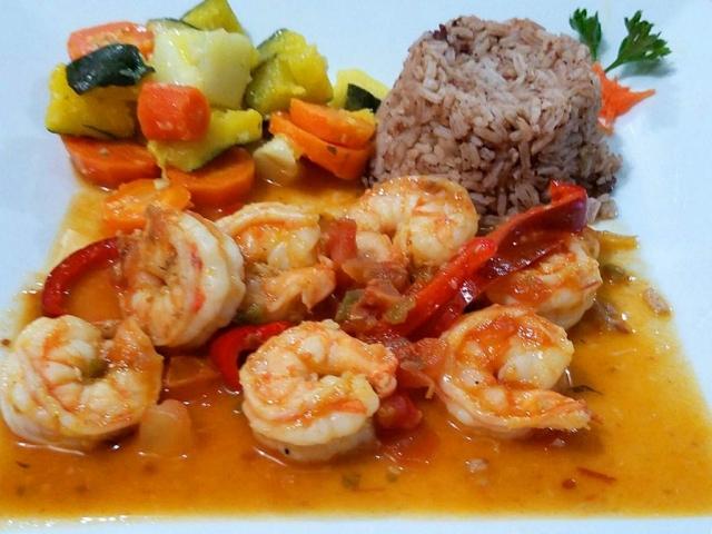 Creole Shrimp - El Fogon