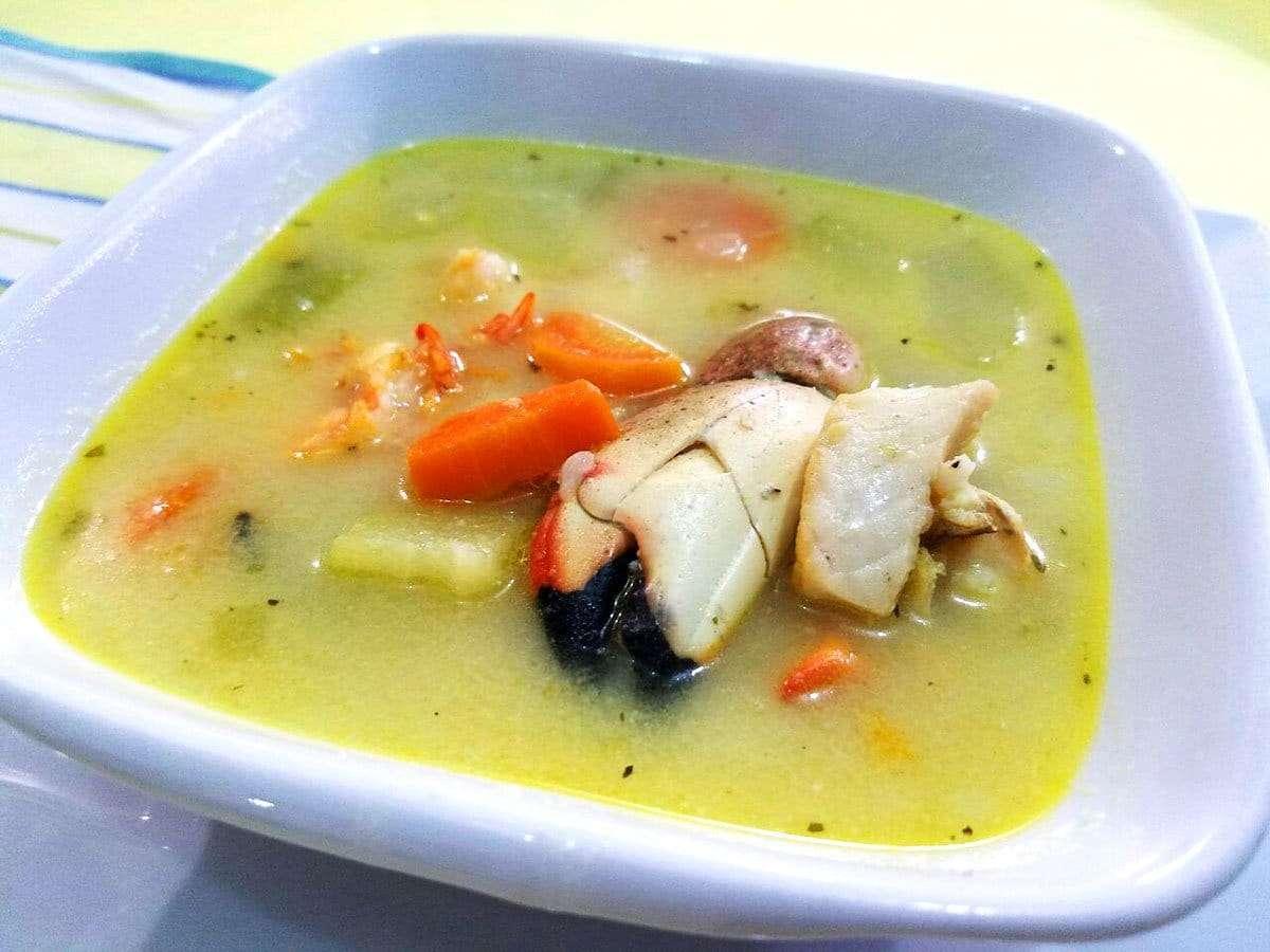 Crab Claw Soup - El Fogon