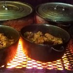 Belizean Food Cooked Fire Wood Style - El Fogon Restaurant