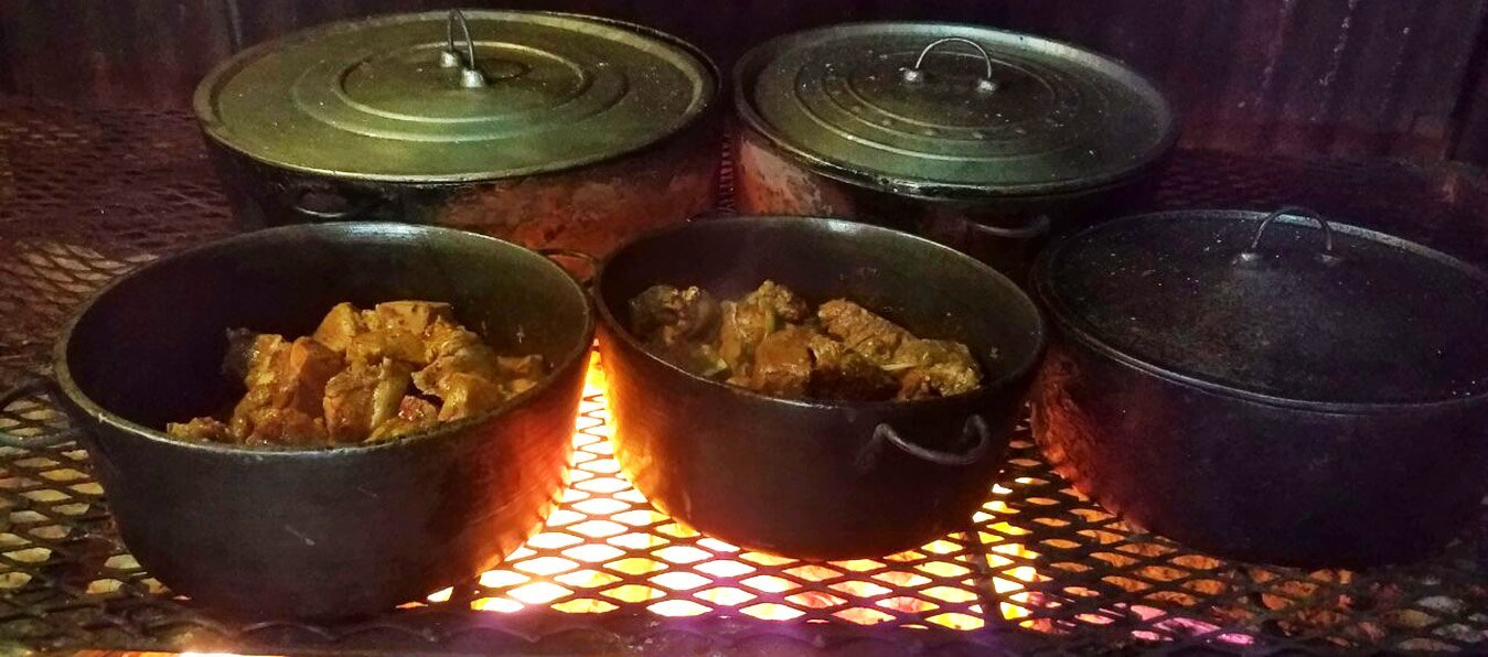 Belizean Food Cooked Fire Wood Style - El Fogon Restaurant