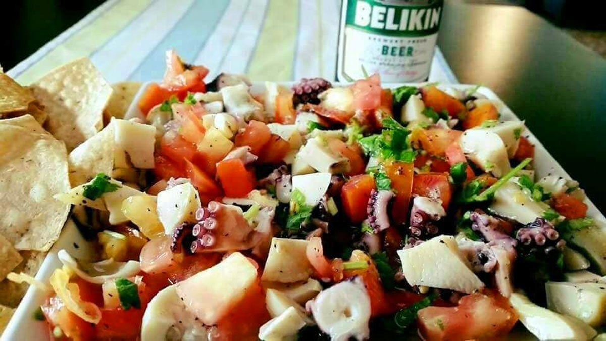 Seafood Combo Ceviche - El Fogon