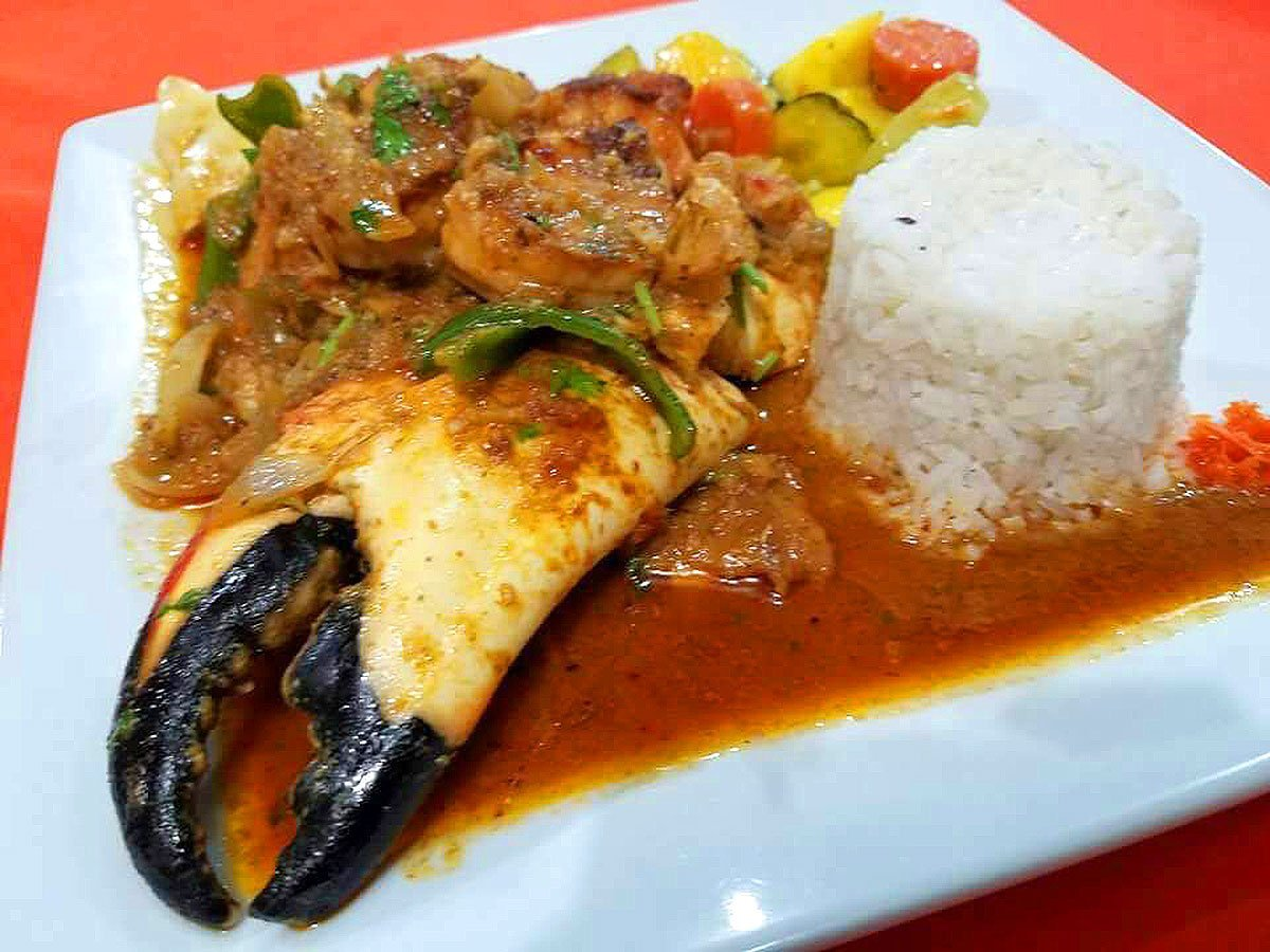 Island Creole Combo (lobster and shrimp) - El Fogon