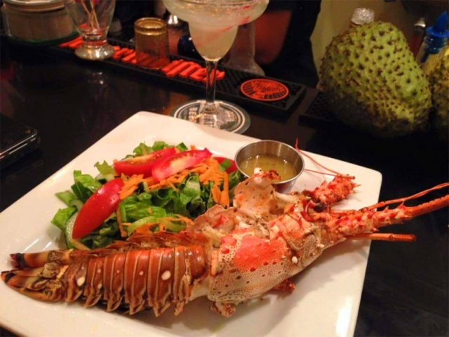 Grilled Whole Lobster - El Fogon