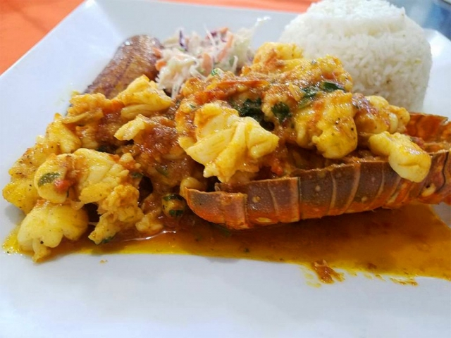 Curry Lobster - El Fogon
