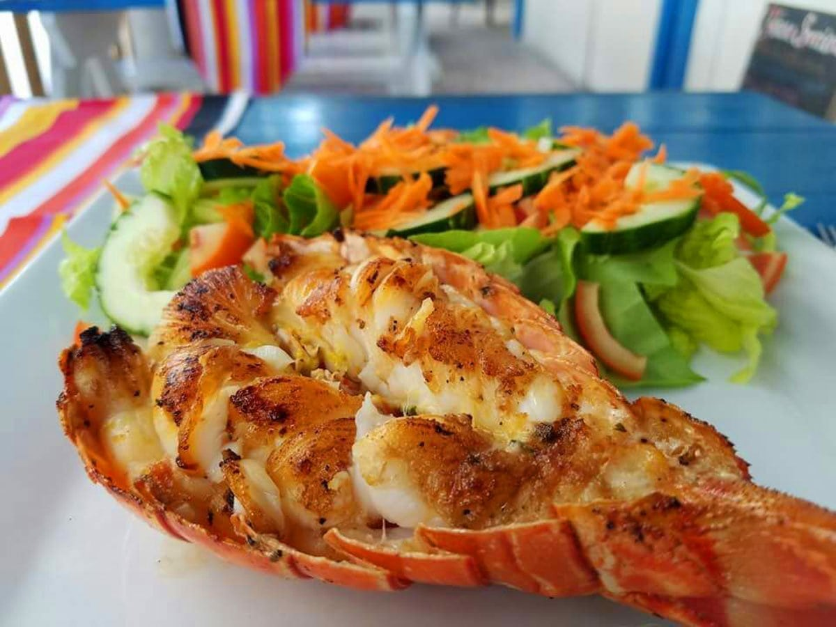 Grilled Lobster - El Fogon