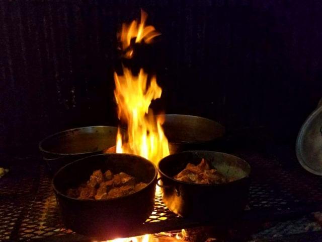 On The Fire Hearth - El Fogon