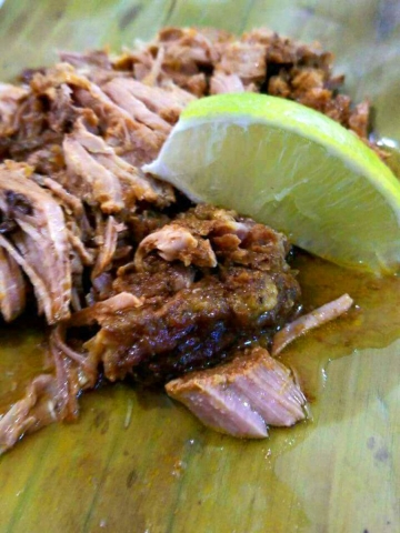 Pork Pibil - El Fogon