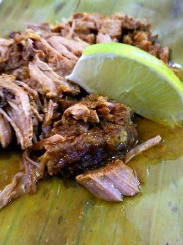 Pork Pibil - El Fogon