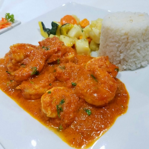 Shrimp Curry - El Fogon