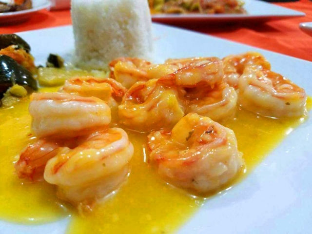 Shrimp Orange and Ginger - El Fogon
