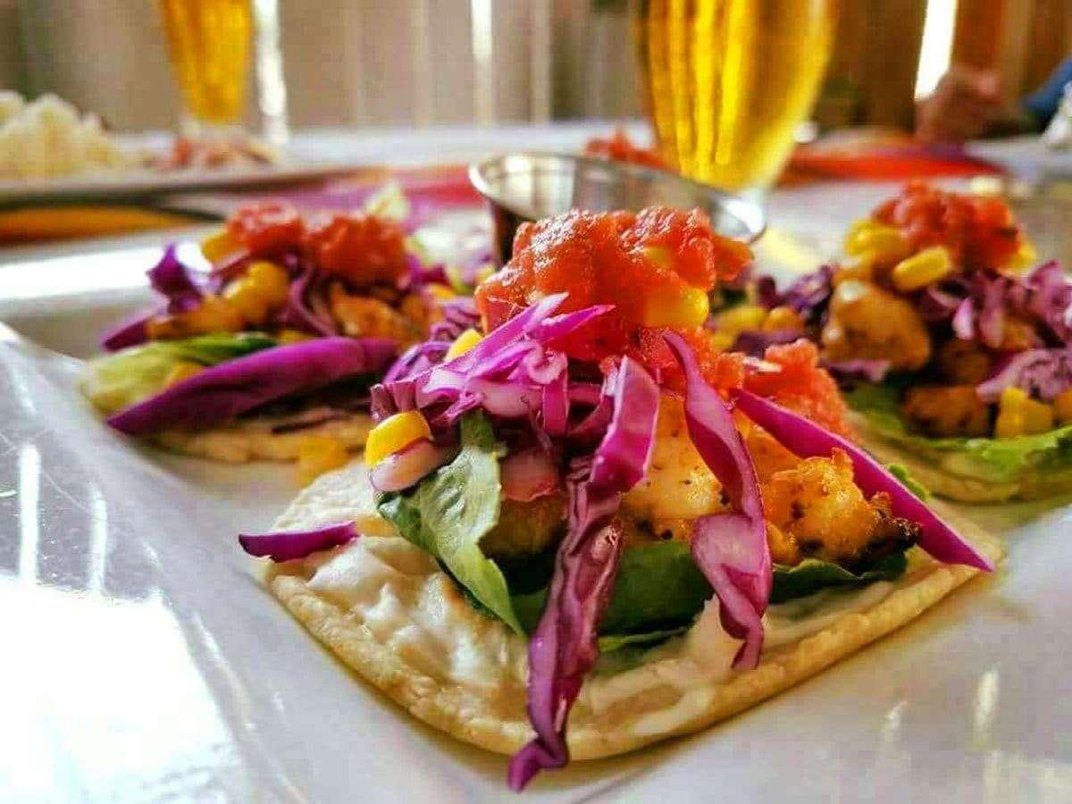 Seafood Tacos - El Fogon
