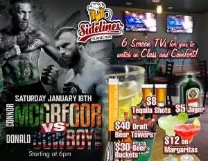 UFC 246 at Sidelines Island Pub @ Sidelines Island Pub