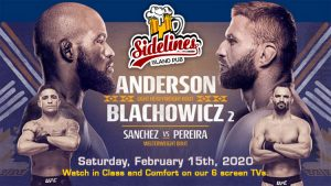 UFC Fight Night 167 @ Sidelines Island Pub