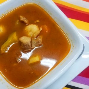Beef Soup at El Fogon Restaurant
