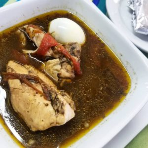 Chilmole Soup at El Fogon