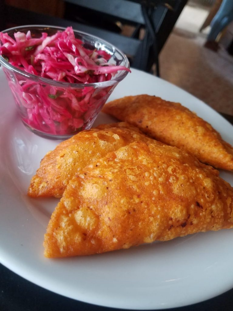 Fish Empanadas at El Fogon Restaurant